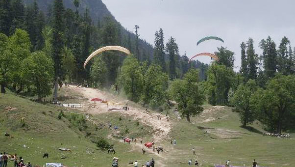 paragliding-in-solang